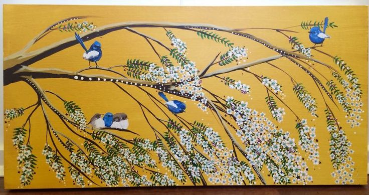 The blue wren family