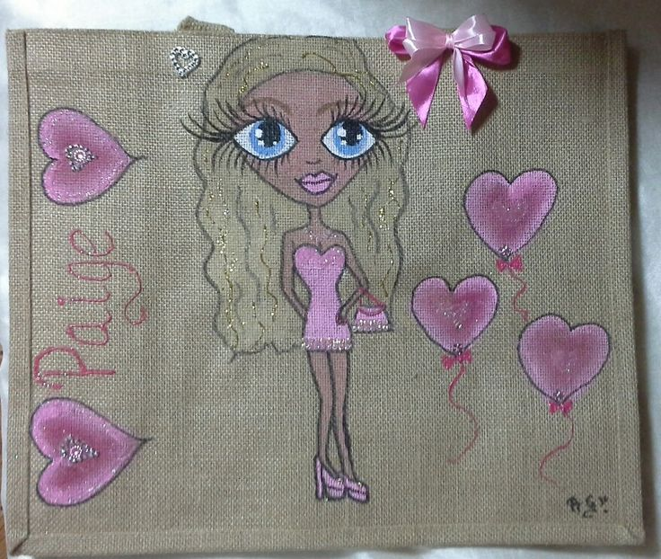 Personalised jute bags, hand painted jute bags. large hand painted jute bags.handpainted jute bags, custom painted jute bags, beach  bags, by Aligri on Etsy