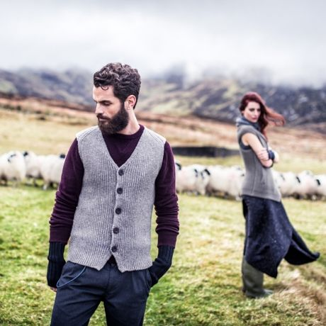 Knitwear by Fisherman Out of Ireland  100% Natural Fibres #Wool #Yarn