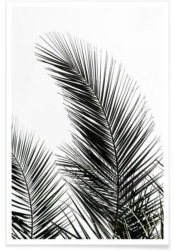 Palm Leaves 1 als Premium Poster von Mareike Böhmer | JUNIQE – Smileletta