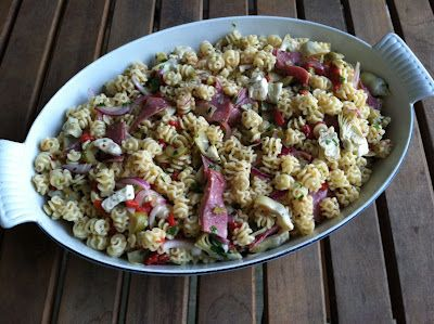 A Taste of Home Cooking: Antipasti Pasta SaladTaste Of Home, Huge Hit, Side Dishes Appetizers, Food, Owners Approved, Cooking, Blog Owners, Favorite Recipe, Antipasti Pasta Salad