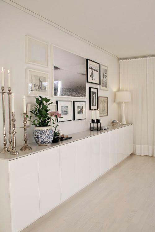 M s de 25 ideas fant sticas sobre aparador blanco en for Aparadores con espejo