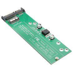Converter Adapter Card for 12+6pin Apple Macbook Air 2010 2011 SSD to 22pin SATA