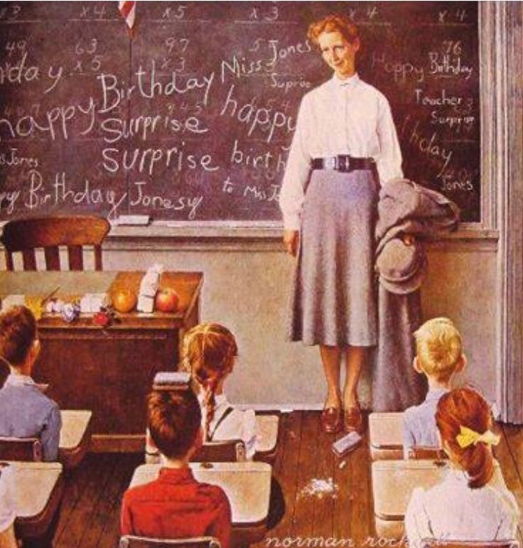 Norman rockwell image by Devra Graham on Teacher Love