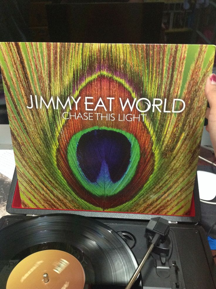 "Jimmy Eat World ""Chase This Light"" LP"