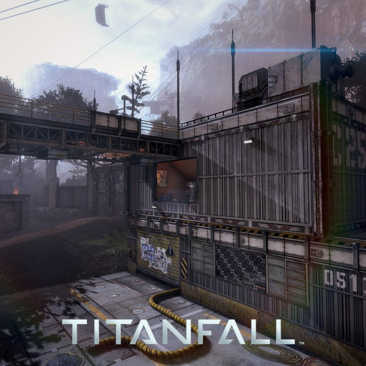 Titanfall - Colony, Jacob Virginia on ArtStation at https://www.artstation.com/artwork/RNzZD