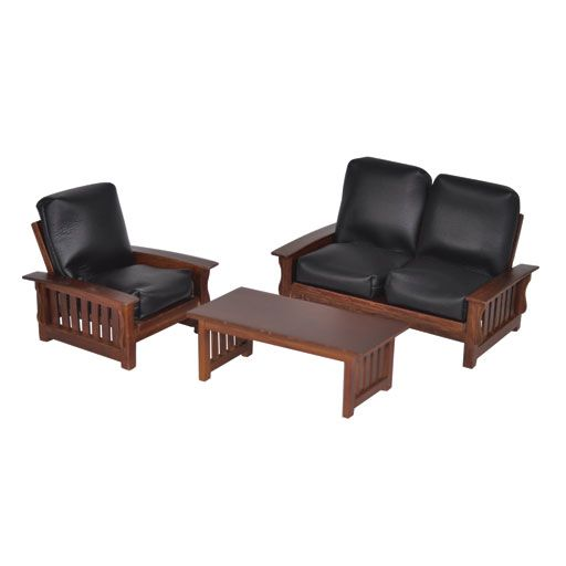 3 Pc Manhattan Living Room Set