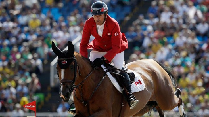 Equestrian Eric Lamaze won his second individual and third career Olympic medal when he won bronze in the individual jumping event at Rio 2016. A six-way jump-off in the final round saw Lamaze and Fine Lady 5 complete the course with one fault to make the podium. It was Lamaze's first fault of the entire Games, the difference between bronze and first place with his time being the tiebreaker. Winning his third medal, Lamaze becomes the most decorated equestrian in Canadian Olympic history.