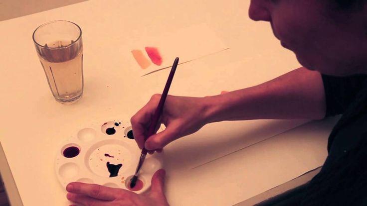 Hudfarver - Britta Johanson viser, hvordan man blander hudfarver