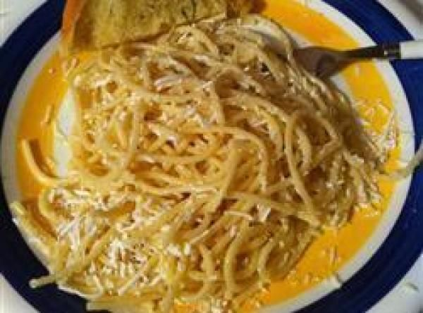 Pasta With Browned Butter Mizithra Cheese