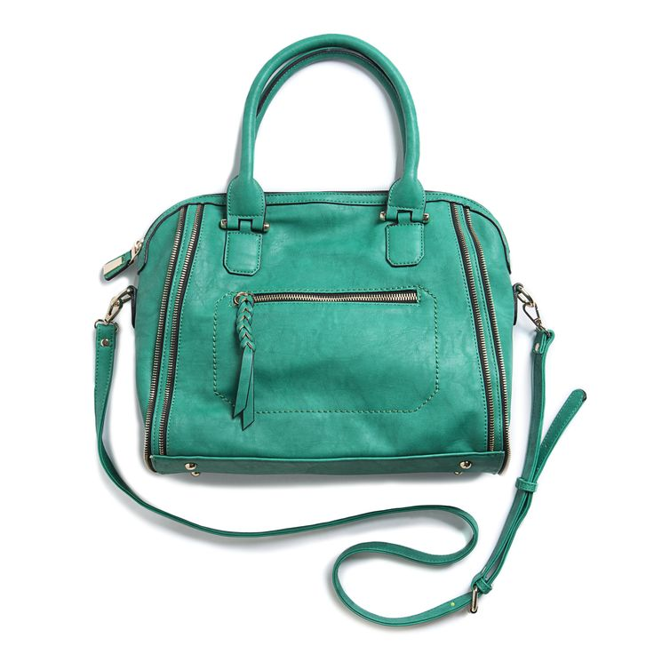 Dear Stitch Fix Stylist, This Elisha Zipper Accent Structured Satchel looks so adorable and I wouldn't mind updating my purse game. I love a cross body and this is just large enough to pack mine and baby's essentials when out and about.