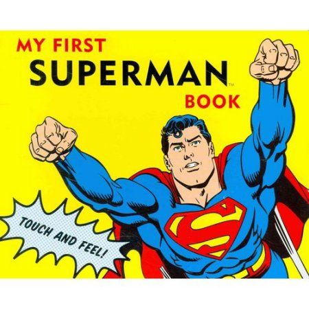 Touch and Feel Superman Book