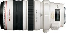 Canon - EF 28–300mm f/3.5–5.6L IS USM Standard Zoom Lens - White