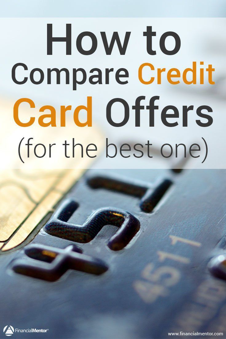 Chances are you get a bunch of credit card offers in the mail every month, and comparing the offers isn't always easy. Use this calculator to see which credit card will give you the least expensive terms over the long run.