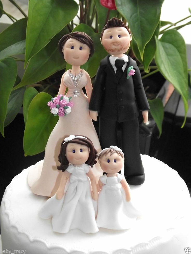 wedding cake toppers with children 16 best images about personalised cake topper on 26629