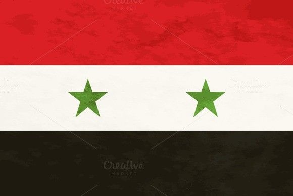 True proportions Syria flag