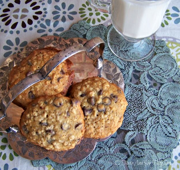 Banana Bread Cookies by O Taste and See