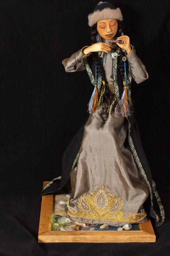 Art doll OOAK. Doll made of wood. Doll by BASTET11HandMade on Etsy