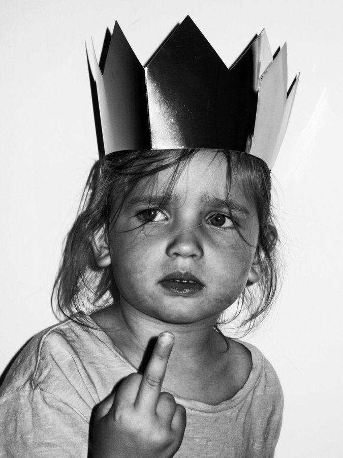 Прикольная корона картинка