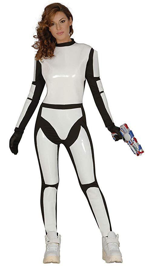 83b39fc53ea2b Guirca – Kostüm Erwachsene Soldat Raumfahrt, Gr. 38 – 44 (84528.0 ...