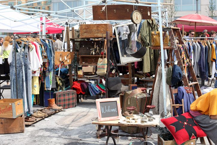 Hunt for treasures at Williamsburg Flea