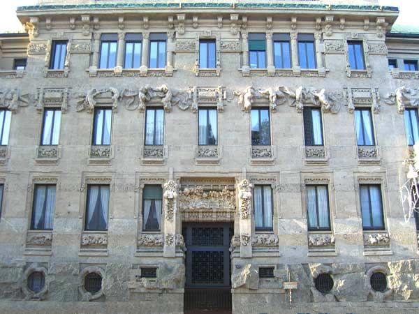 Milano Palazzo Castiglioni arch Sommaruga