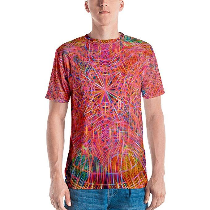 Spellbound Clothing Mens T-Shirt Alchemical Apotheosis Full Print Premium Knit 100/% Polyester Jersey
