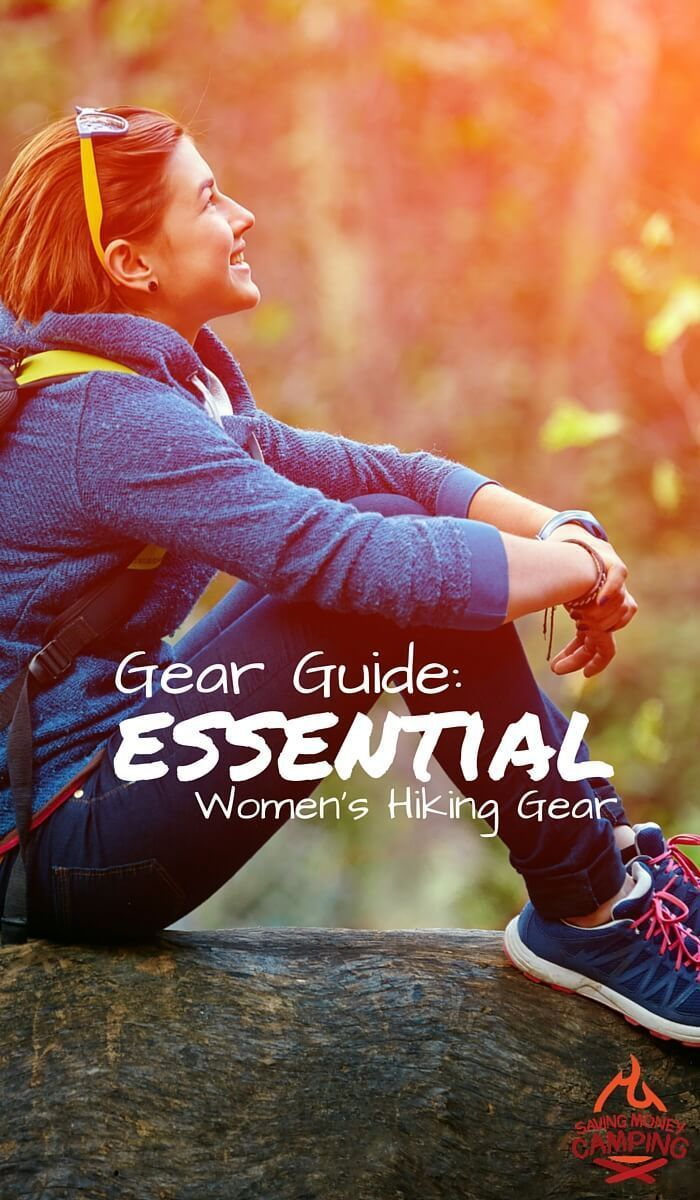 Hiking gear for women is getting better and better! Use this handy checklist to get all of the hiking gear women on your list. - Saving Money Camping http://www.savingmoneycamping.com/hiking-guide-essential-hiking-gear-women/