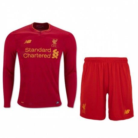 £19.99 Liverpool Kids Home Kit Long Sleeve 2016 2017