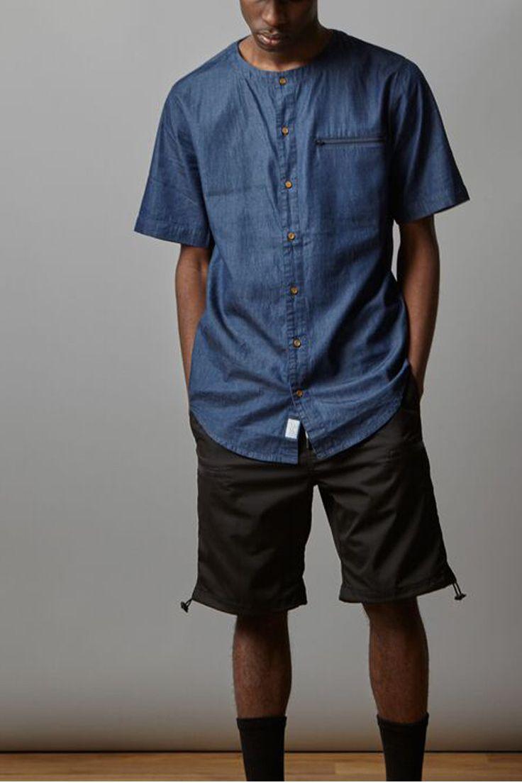 I LOVE UGLY - Ss Crew Shirt | Denim