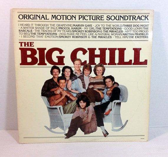 "The Big Chill Soundtrack 1983 Vinyl 12"" Record Compilation Motown Marvin Gaye Temptations Aretha Franklin Three Dog Night #TheBigChill #records #vinyl #vintagevinyl #soundtracks #album retroregroove.com"