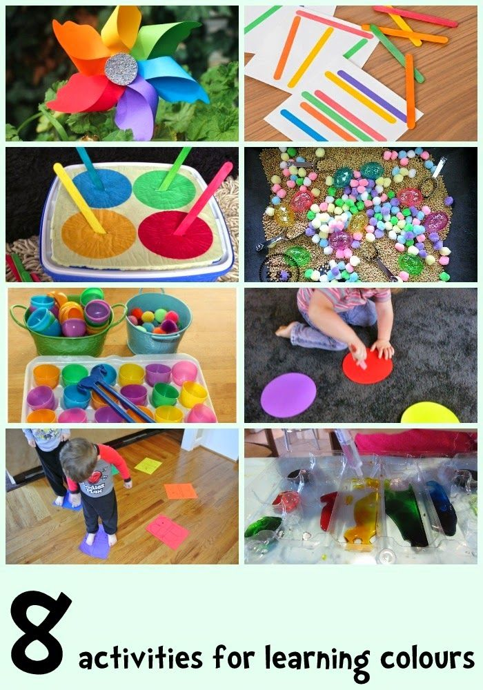 8 colour learning activities for kids - Colour Kid