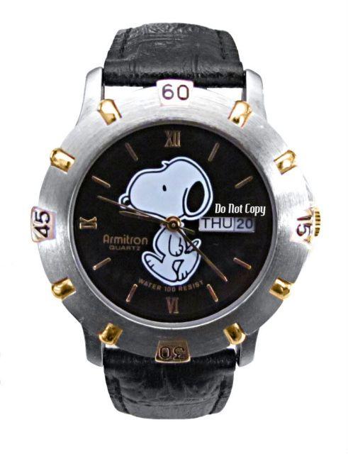Snoopy armitron watch - 1999