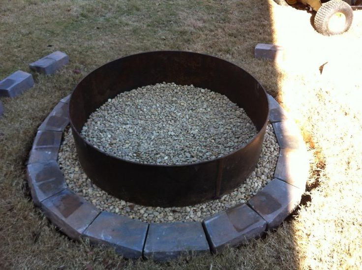 Best 25 Fire Pit Ring Ideas On Pinterest Diy Fire Rings