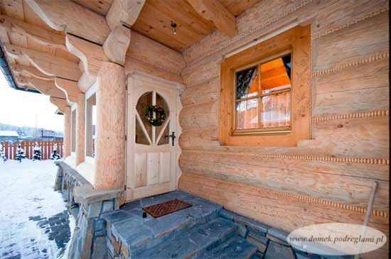 Domek Pod Reglami IIB - wejście do domku http://www.domek.podreglami.pl/domek_3.htm
