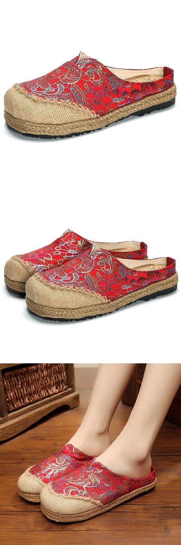 Women slip on flax cloth shoes casual flat loafers flat navy loafers #flat #navy #shoe #flat #shoe #clearance #flat #shoe #pattern