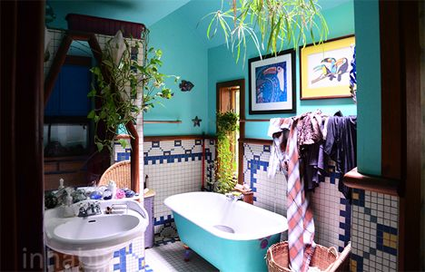 bohemian bathroom delciousness