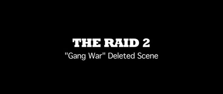The Raid 2: Berandal (Deleted Scene: Gang War) in 35 MM - A GROUP FOR CINEPHILES! on Vimeo