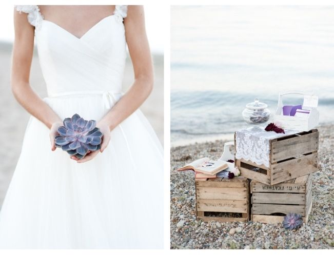 Eco-Chic Styled Shoot at Glencoe Beach {Naturally Yours Events}