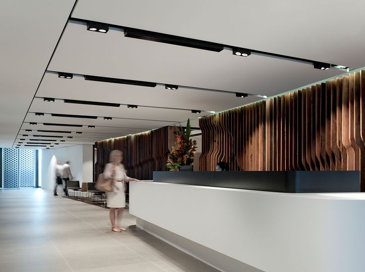 office reception. Landcom / Bates Smart. Reception CounterOffice Office