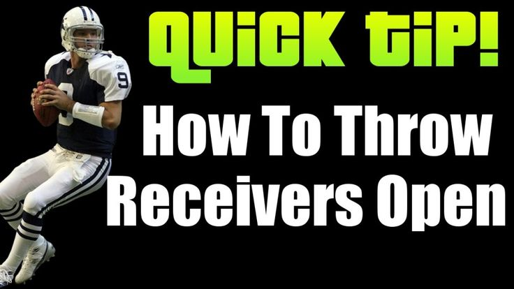 This Madden 16 tip covers how to throw receivers open. Learn how to decrease your turns overs and move the ball effectively against your opponent with these Madden 16 tips