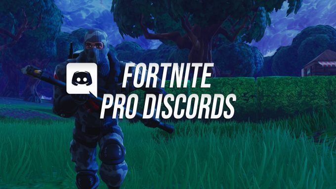List of Fortnite Discord Servers for Pro Scrims and Pro Snipes