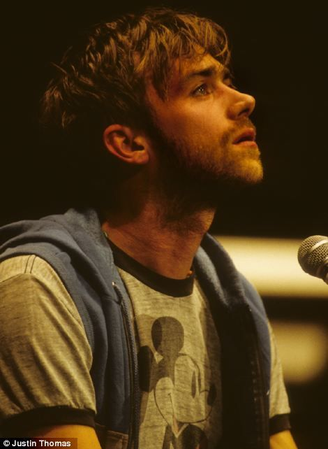 Damon Albarn from Blur at the Royal Albert Hall in July 1996