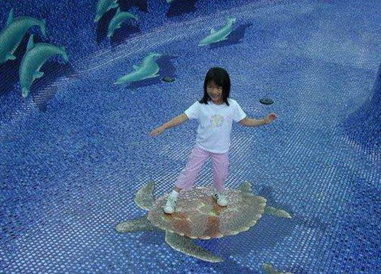 De 41 bästa 3D Pool Tile- Swimming pool mosaics. It makes ...