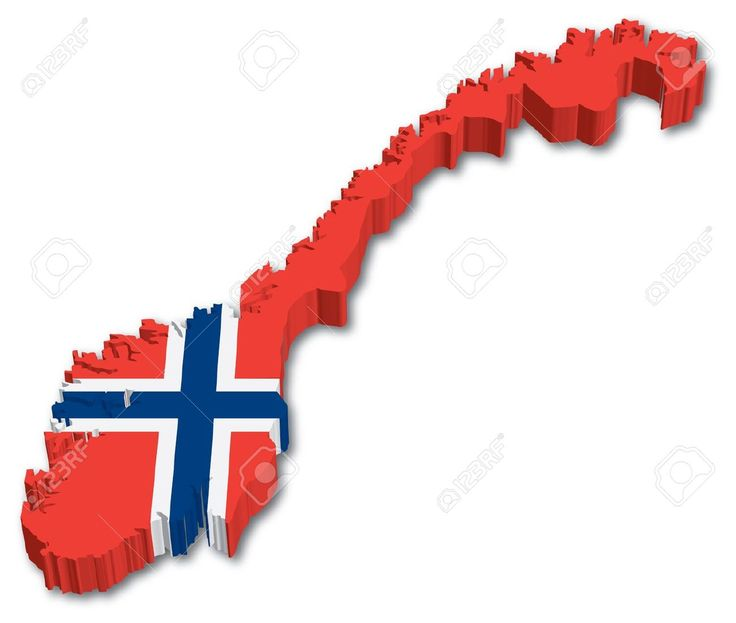 norway map in flag - Google Search