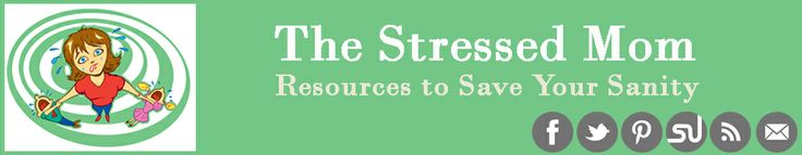 Overwhelmed with life? Start here... The Stressed Mom.  This website has some very helpful and practical tips for moms!!!