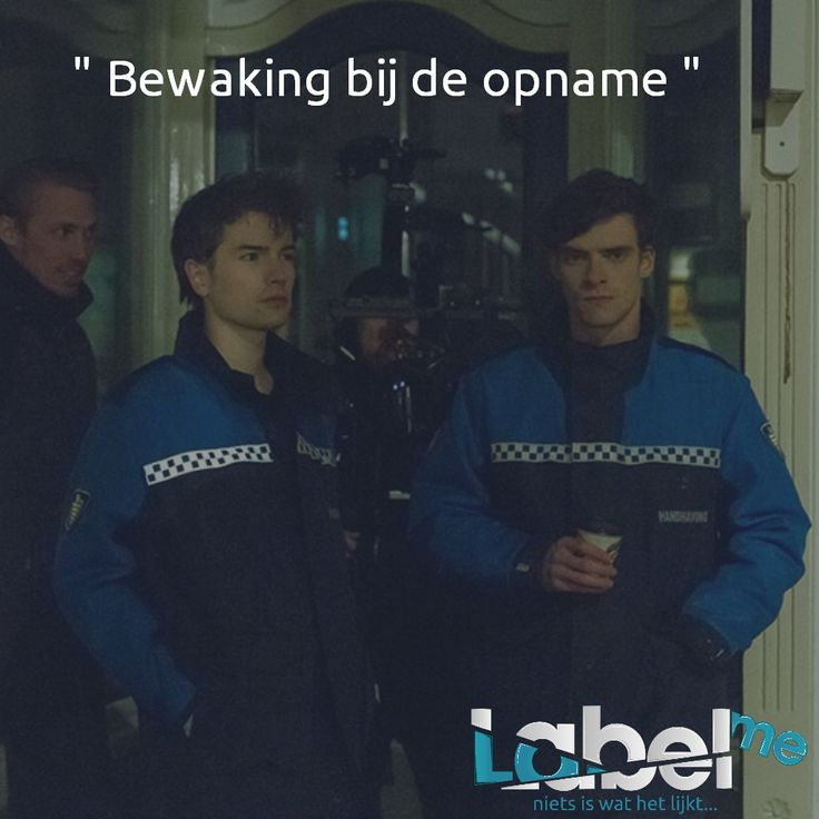 """"""" Bewaking bij de opname """"  #LabelMeFilm #making_of MEER_WETEN? #LMF"""