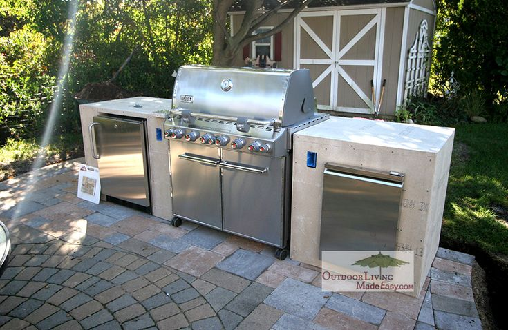 Weber Grill Built In Google Search Wood Deck Ideas