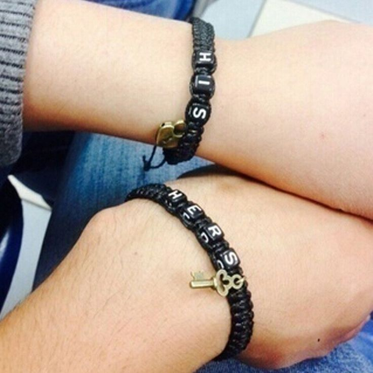 This listing is for 2 bracelets, HIS and HERS. A perfect choice for anniversary gift, birthday gift, Christmas gift, or a surprise gift for him or her to celebrate or announce your blessed relationshi