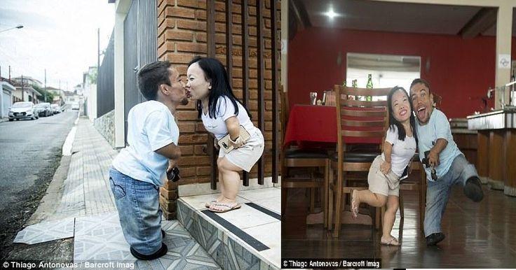 Το πιο… κοντό ζευγάρι στον κόσμο παραδίδει μαθήματα αληθινής αγάπης! (photos)